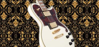 Test: DAngelico Deluxe Atlantic Vintage White, E-Gitarre