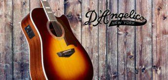 Test: DAngelico Premier Bowery VS, Akustikgitarre