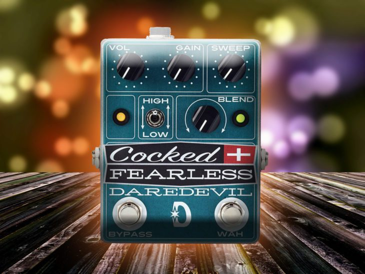 Daredevil Pedals Cocked & Fearless