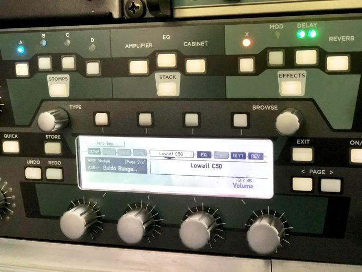 David Gilmour Sound auf dem Kemper