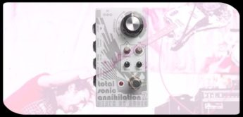 Test: Death By Audio Total Sonic Annhiliation 2, Gitarren-Pedal