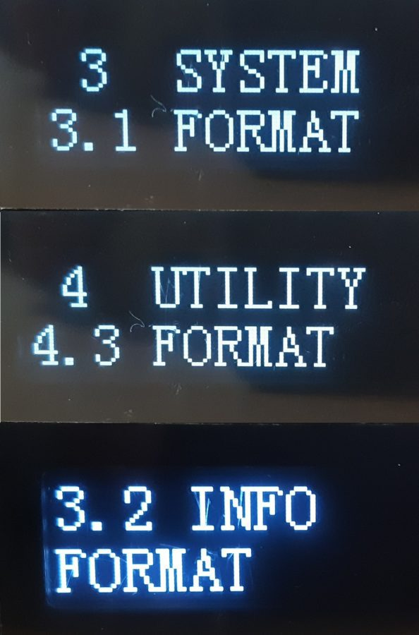 """Irritierend: """"Format"""" gibt es gleich drei Mal"""