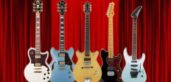 Die besten E-Gitarren 2018 im Überblick