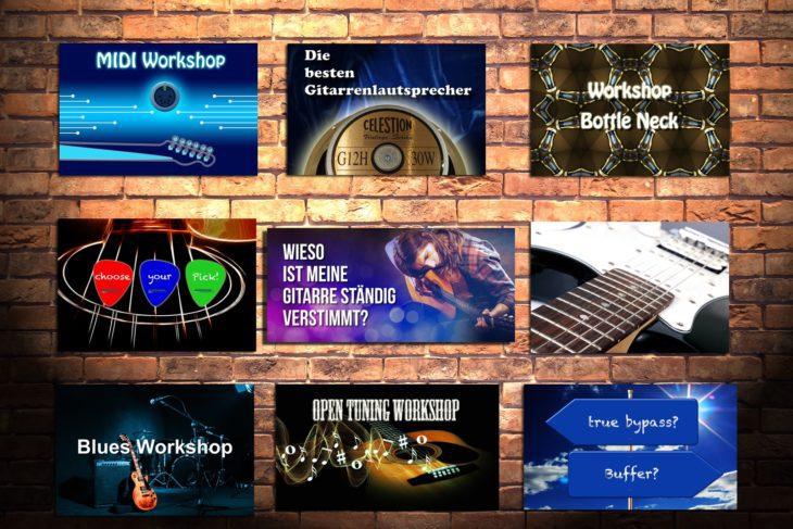 Die besten Workshops für Gitarre