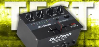 Test: DJ-Tech Handy Kutz, Portablism DJ-Mixer