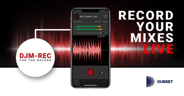 Pioneer DJ DJM-REC App