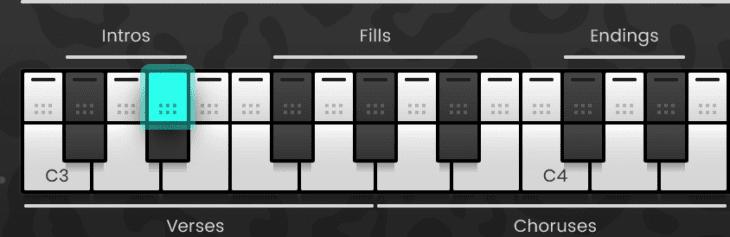 MIDI Drag and Drop On-Screen Keyboard