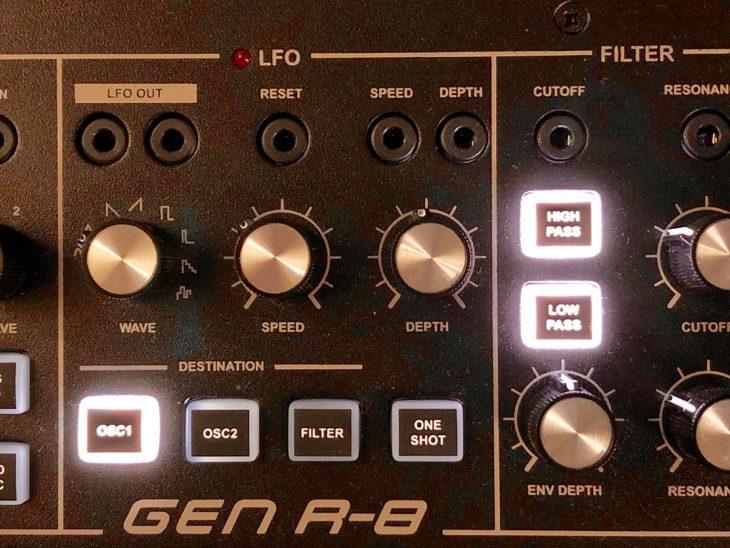 Dubreq Stylophone Gen R-8 LFO und FIlter