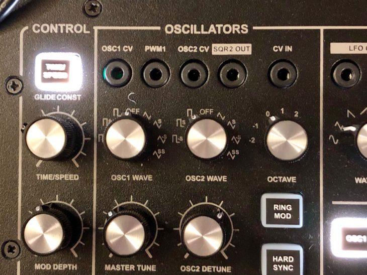 Dubreq Stylophone Gen R-8 Oszillatoren