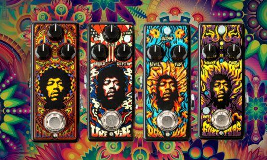 Test: Dunlop Authentic Hendrix '69 Pedals, Gitarren-Pedale