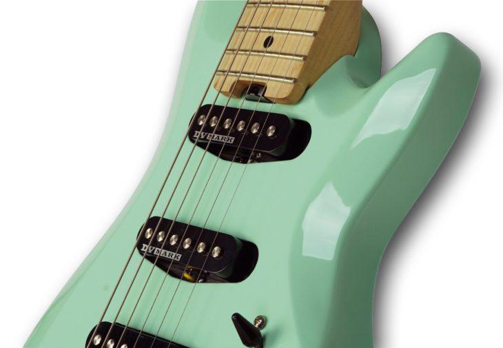 DV Mark DV Little Guitar F1 CGR Korpus Body 2