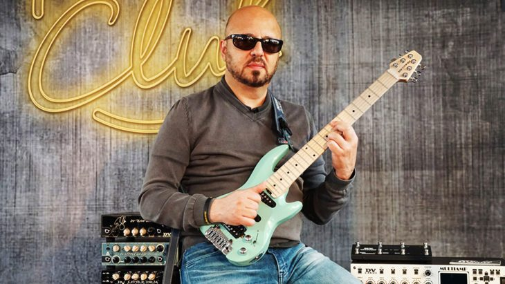 DV Mark DV Little Guitar F1 CGR
