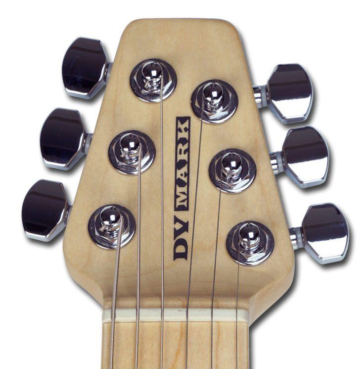 DV Mark DV Little Guitar F1 CGR Headstock Kopfplatte