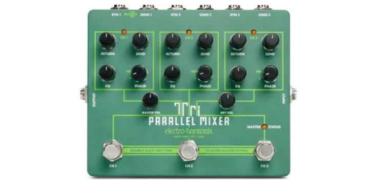 EHX Tri Parallel Mixer