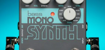 NAMM News 2019: Electro-Harmonix Bass Mono Synth, Effektpedal