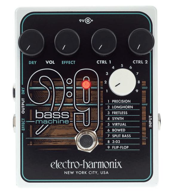 Electro Harmonix BASS9 Bass Machine Frontal