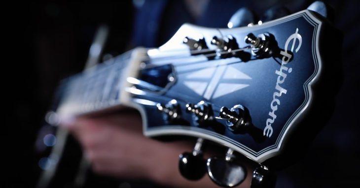 Epiphone LP Jared Nichols Old Glory E-Gitarre