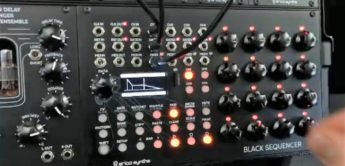 News: Erica Synths Black Sequencer mit internen Hüllkurven