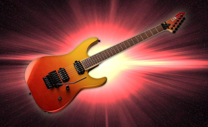 ESP LTD M-400 SOLFD E-Gitarre