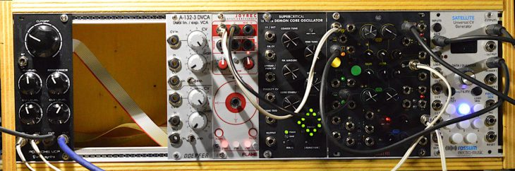 Eurorack CV Steuerung - Wobble Patch2