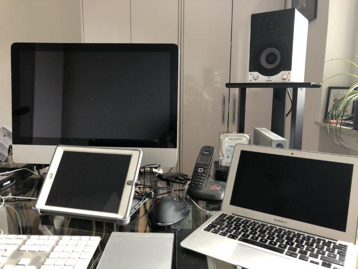 Eve Audio SC204 im Studioeinsatz