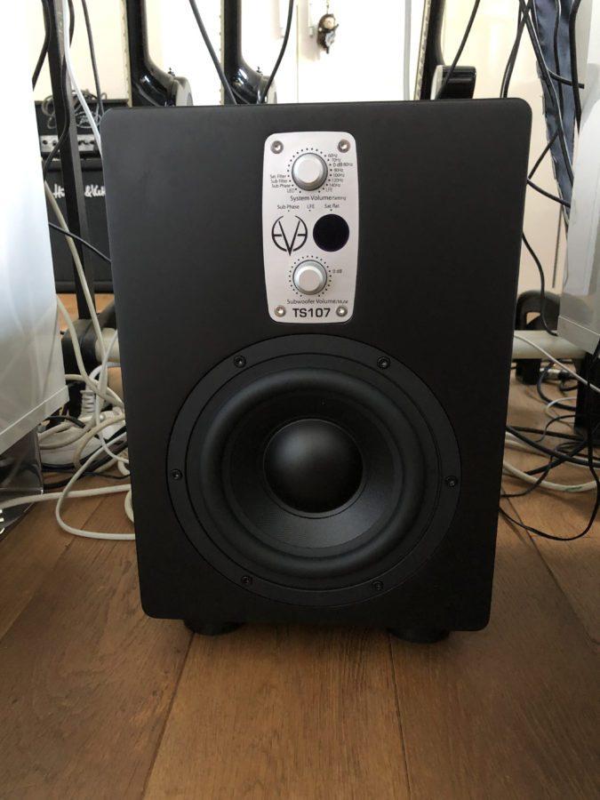 Eve Audio TS107 - im Studiobetrieb