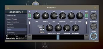 Test: Eventide Blackhole, Halleffekt, Plugin iOS / Desktop