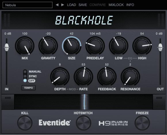 Eventide Blackhole - Desktop