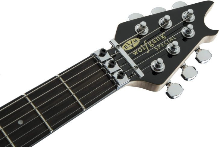 EVH Wolfgang Special Striped headstock