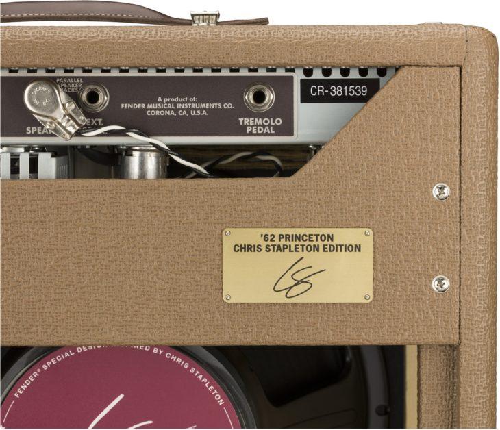 Fender 62 Princeton Chris Stapleton Signatur