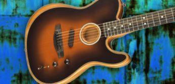 Test: Fender Acoustasonic Tele, Akustikgitarre