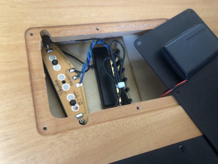 Fender Acoustasonic Tele Elektronics