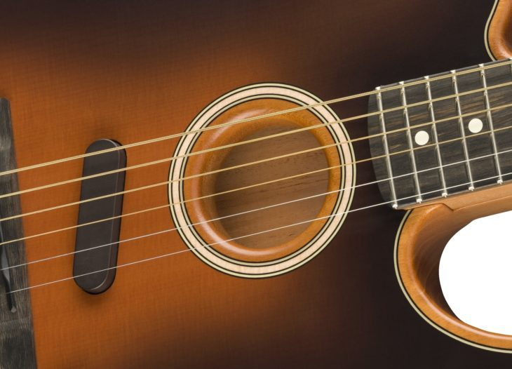 Fender Acoustasonic Tele Stringed Instrument Resonance System
