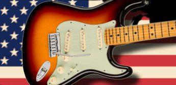 Test: Fender American Ultra Stratocaster, E-Gitarre