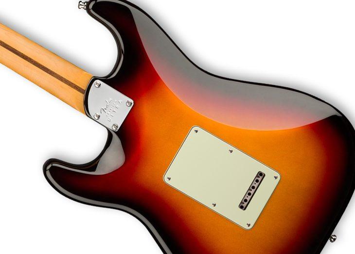 Fender American Ultra Stratocaster body back