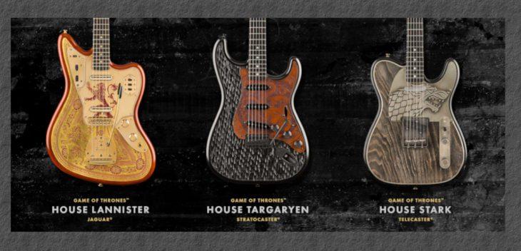Fender präsentiert Game of Thrones E-Gitarren
