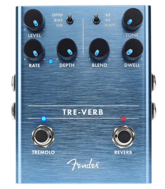 Fender Tre-Verb Frontal