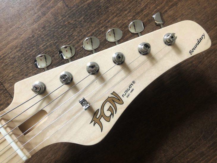 FGN Boundary Odyssey E-Gitarre Headstock