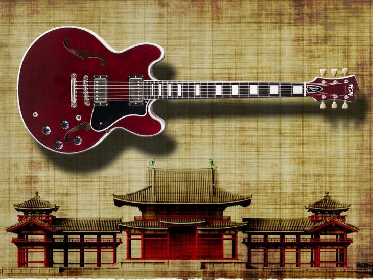 FGN Masterfield Semi Special E-Gitarre