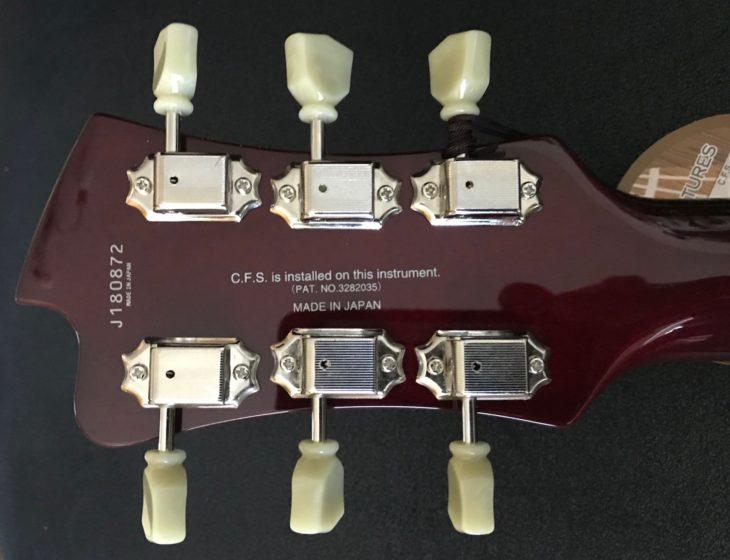 FGN Masterfield Semi Special E-Gitarre Kopf