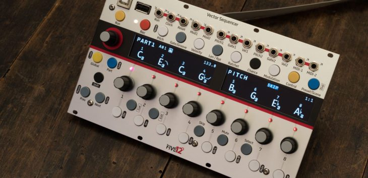 five 12 vector sequencer test