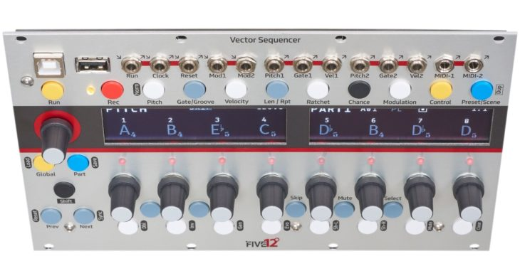 five 12 vector sequencer