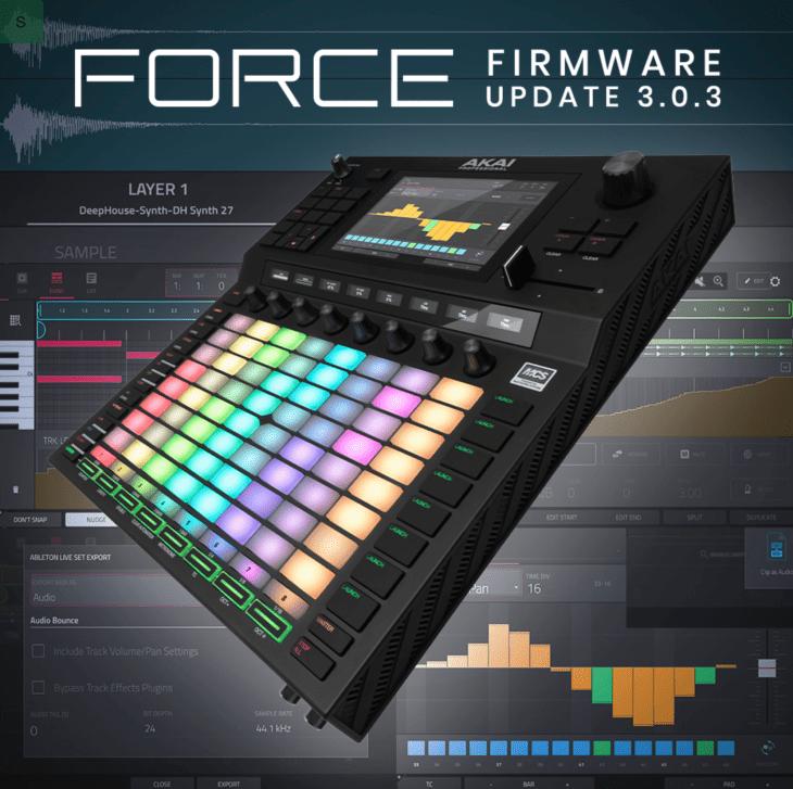 Akai Force Update 3.0.3