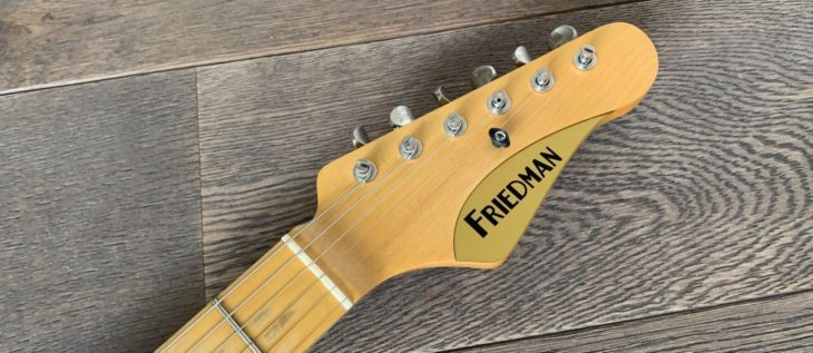 Friedman VINTAGE-T_Headstock