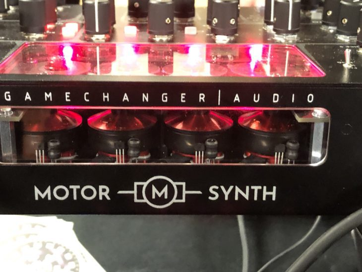 Gamechanger | Audio Motor Synth Rückseite
