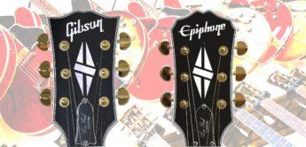 Epiphone bekommt Gibson Headstocks