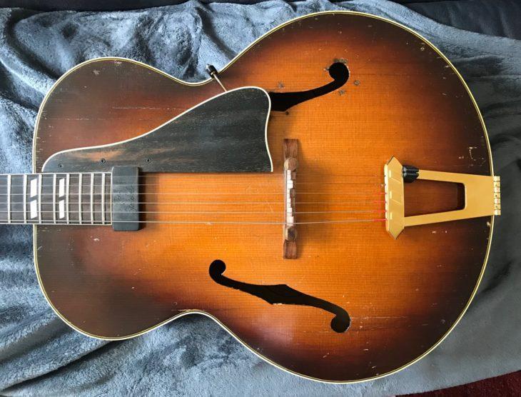 Vintage Gitarre Gibson L-7