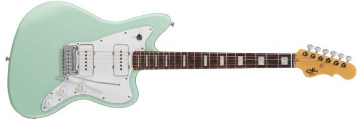G&L Tribute Doheny Surf Green E-Gitarre