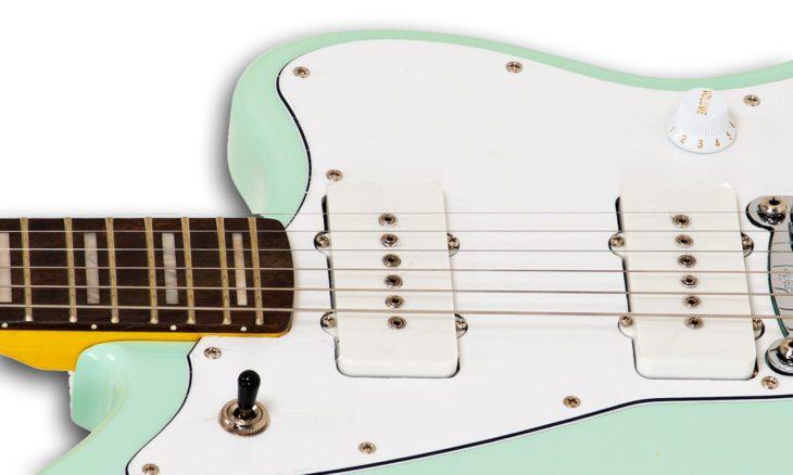G&L Tribute Doheny Surf Green E-Gitarre Cutaway