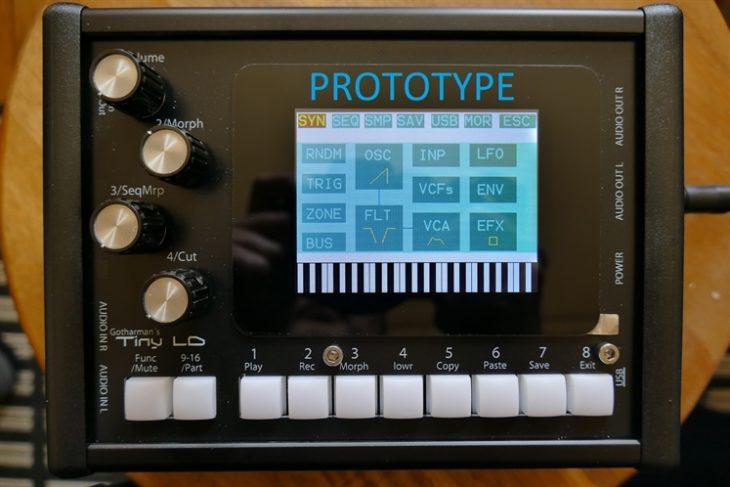 Gotharman Tiny LD Prototyp